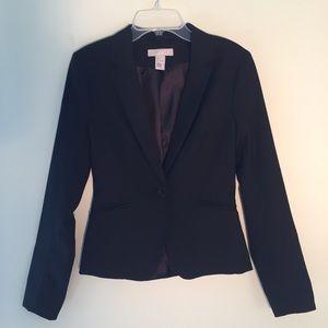 H&M Career Black Blazer Size 2
